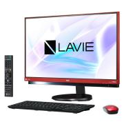 LAVIE Desk All-in-one PC-DA770HAR [ラズベリーレッド]